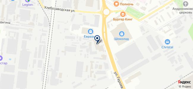 Урал, ООО на карте