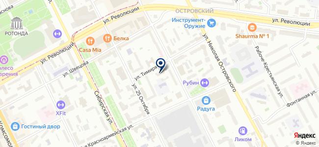 Кунгур Кабель на карте