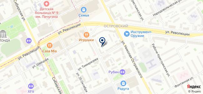 АМ на карте