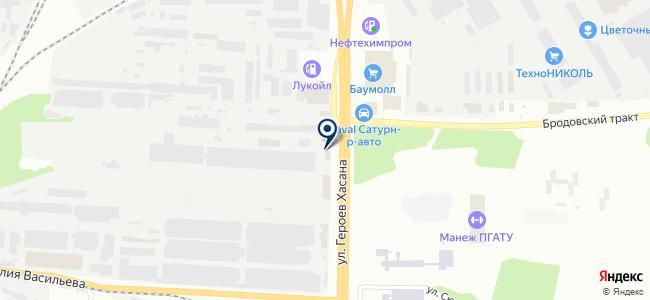 Инфакс на карте