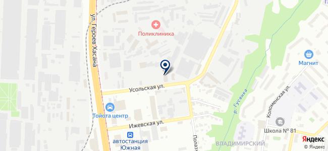 Эврикар на карте