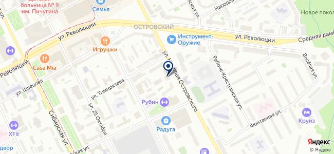 ШВАБЕ-ПЕРМЬ, ООО на карте