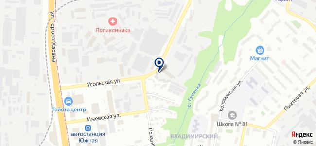 Энергетик-1, ООО на карте