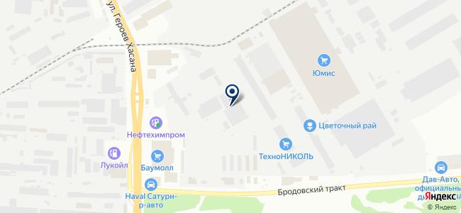 Регистр-строй на карте