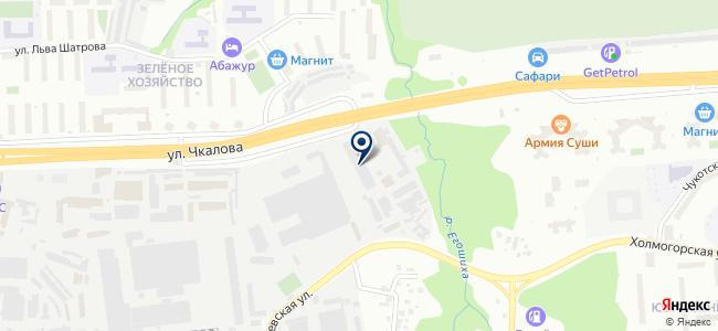 ПрофКомплект на карте