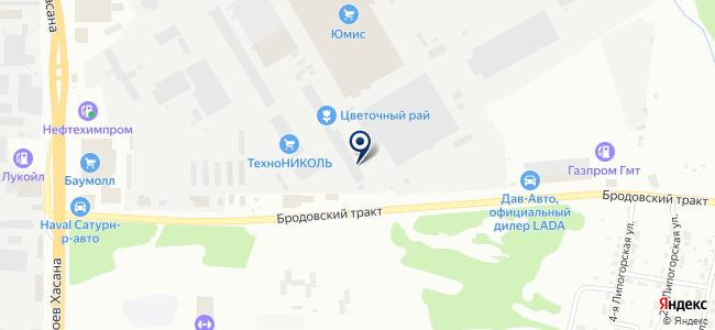 Промизоляция на карте