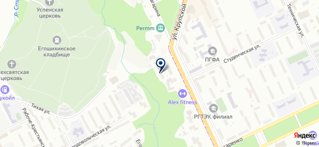 Гельветика-Прикамье на карте