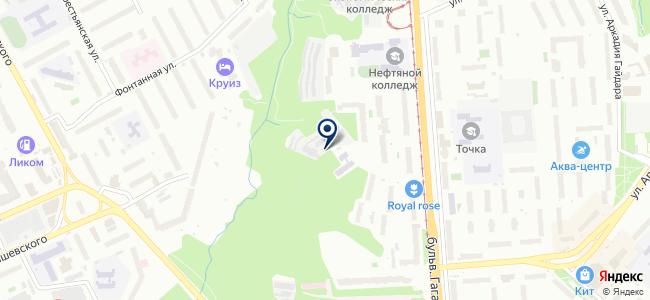 Пермспецкомплект, ЗАО на карте
