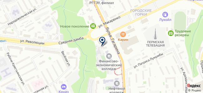 Вольтаж-Пермь на карте