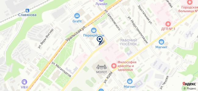 УралПромСнабКомплект на карте