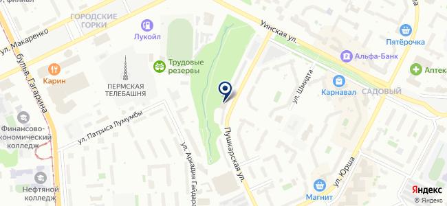 Парма Альянс, ООО на карте