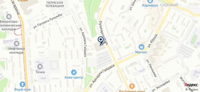 Урал-Тест на карте