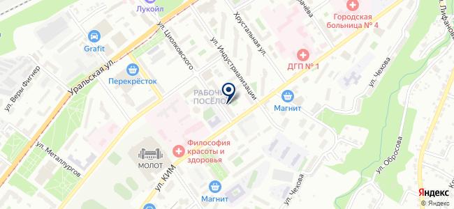 Уралбизнестрейд на карте