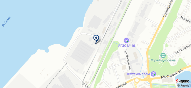 ЦСК на карте