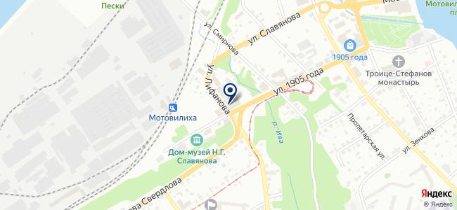 Урал-Инструмент на карте