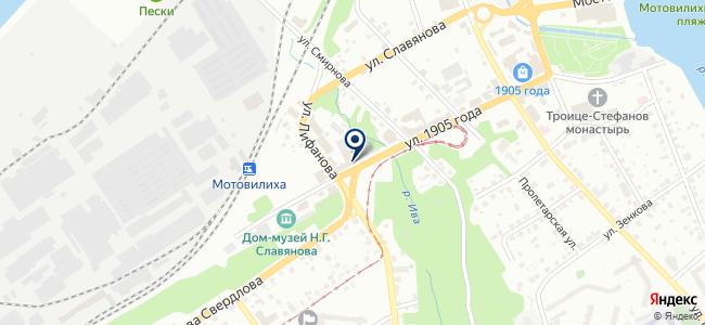 Магазин светотехники и бытовой химии на карте