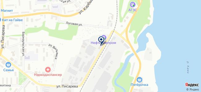 Квин, ООО на карте