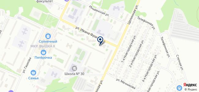 Инвестэнергострой на карте