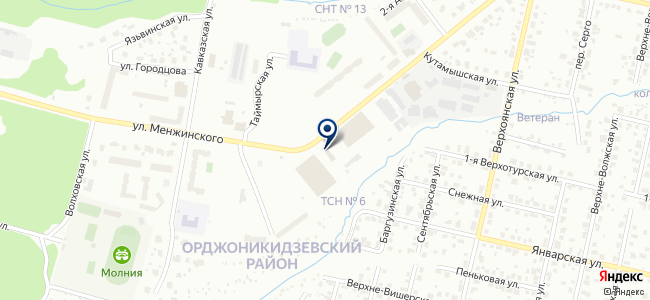 Дизель на карте