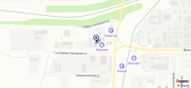 Интерсвет74 на карте