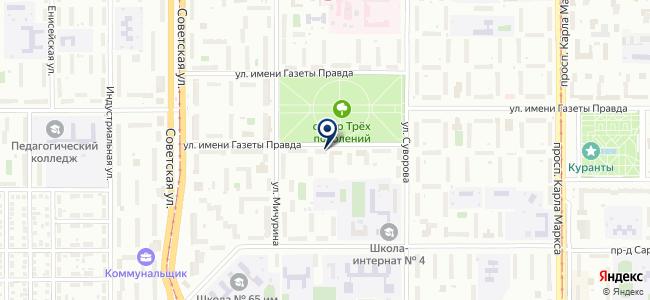 Комплекс СБ на карте