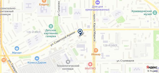УралМетПром, ЗАО на карте