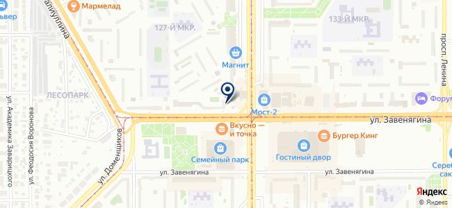 Маггортранс, МП на карте