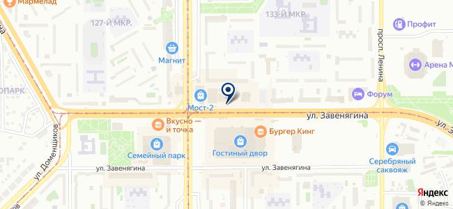 Марракеш на карте