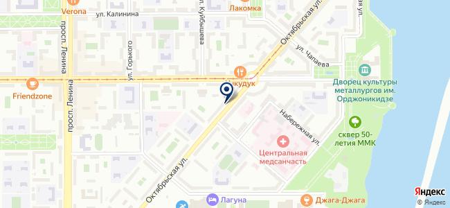 ЭЛЕКТРОСИЛА74 на карте