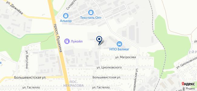 Южуралэлектромонтаж, ЗАО на карте