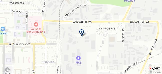 Магнитогорский крановый завод, ОАО на карте
