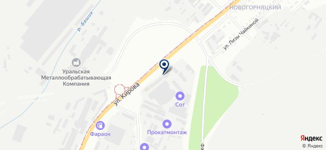 Контур, ООО на карте