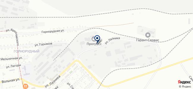 Гласс, ЗАО на карте