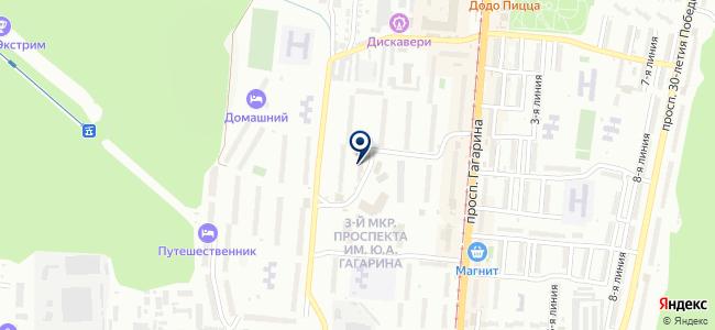 М-Техника на карте
