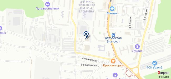 УСЭК, ООО на карте