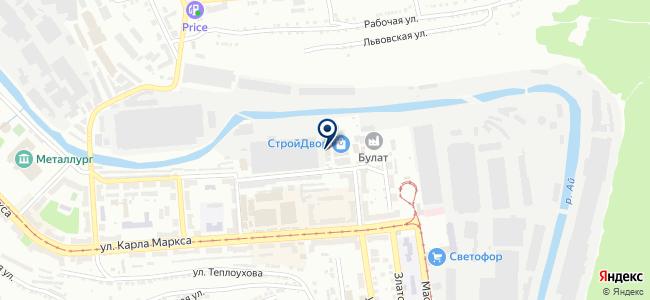 Техностройкомплект, ООО на карте