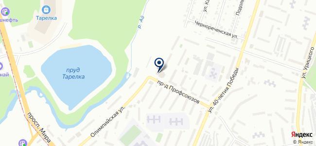 Инструментальная компания, ООО на карте