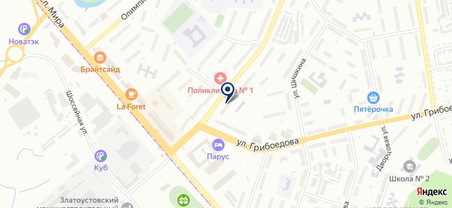 ЗлатКалибр, ООО на карте