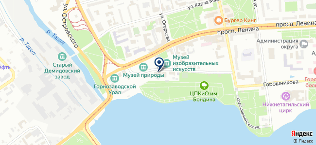 Автоматика, ООО на карте