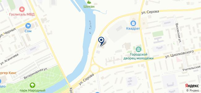 Канталь, ООО на карте