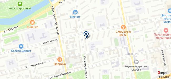 Фабрика света, сеть магазинов электротехнической продукции на карте