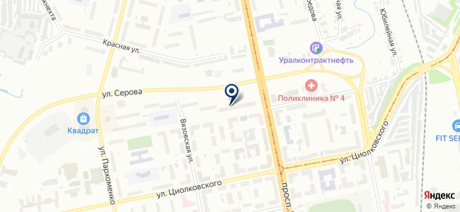 Химтес-Электро, торговая компания на карте