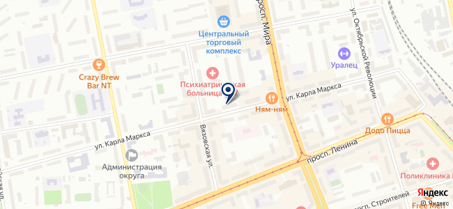 Формат, магазин на карте