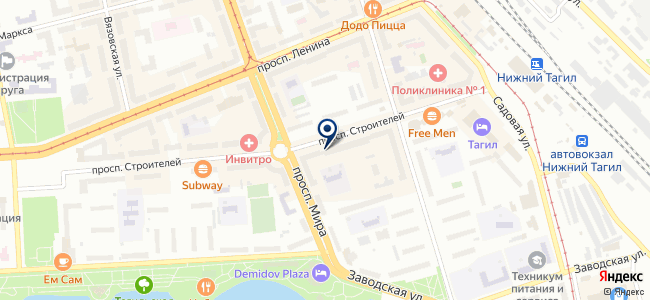 ТЕРМ, группа компаний на карте