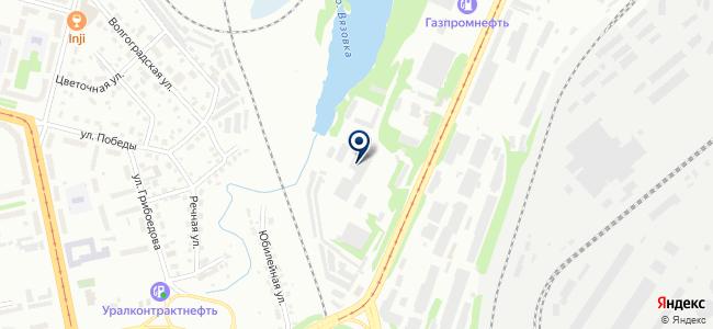 Уральский завод электроизделий на карте