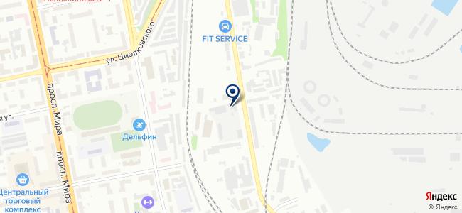 Бош-Модуль на карте