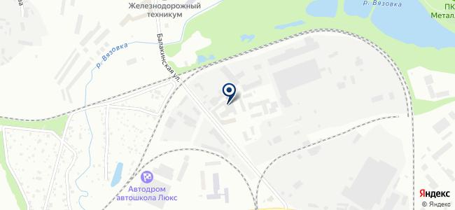 Урал Энерго Прибор на карте