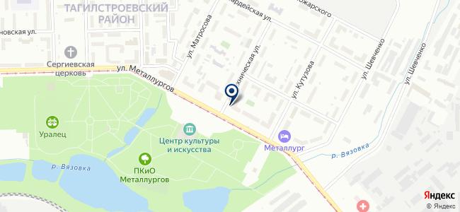 Тяжпромэлектромет, ЗАО на карте