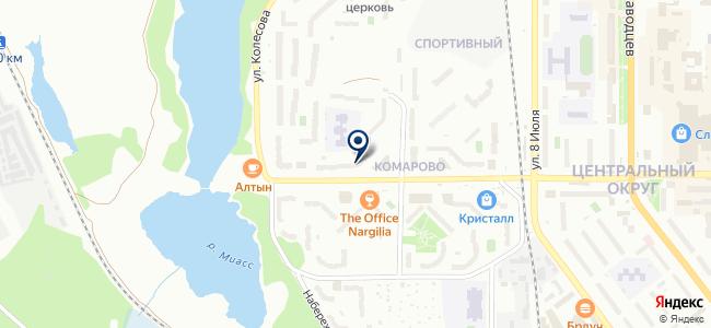 Миасс ТЭН, ЗАО на карте