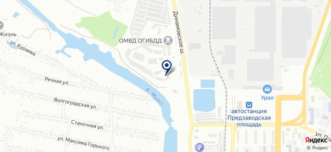 Служба бытового сервиса на карте